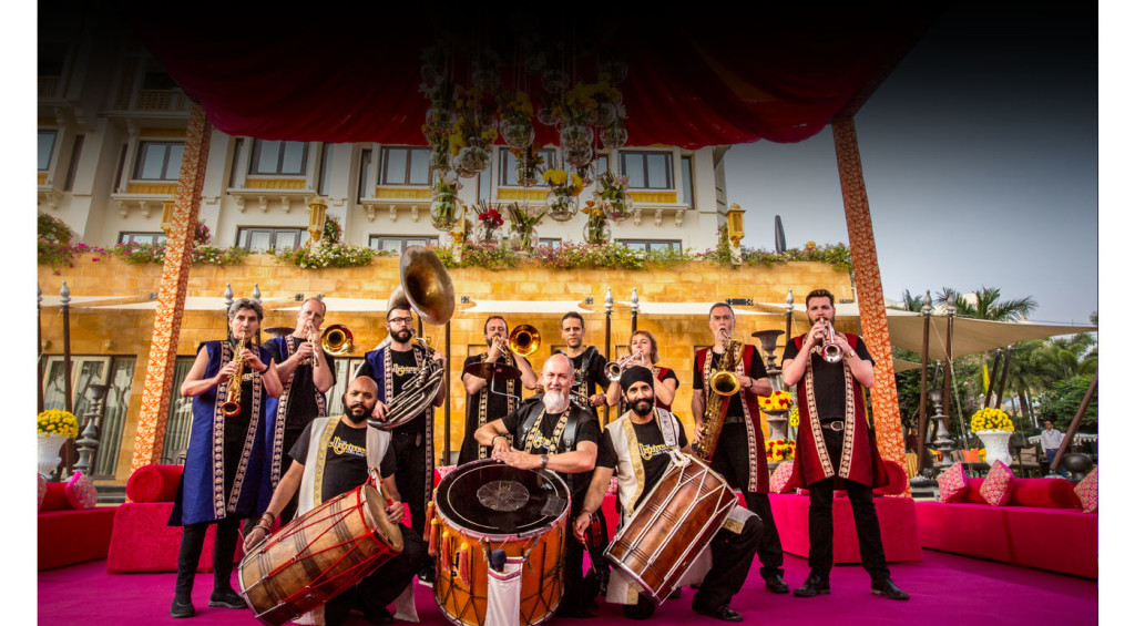 British Bollywood Baraat band