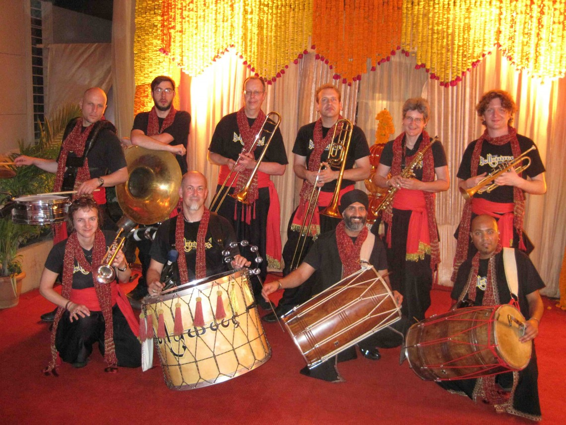Bollywood-brass-band